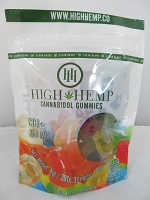 High Hemp Cannabidol CBD Gummies 250mg (Gummy Bears)