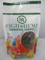 High Hemp Cannabidol CBD Gummies 1000mg (Gummy Bears)