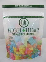 High Hemp Cannabidol CBD Gummies 250mg (Sour Gummy Bears)