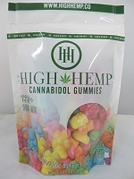 High Hemp Cannabidol CBD Gummies 500mg (Sour Gummy Bears)