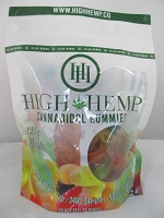 High Hemp Cannabidol CBD Gummies 750mg (Gummy Worms)