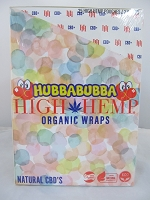 High Hemp Organic CBD Blunt Wraps 25ct (Hubba Bubba)