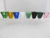 Pyramid Bowl 14mm (Multiple Colors)