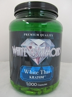 White Diamond Kratom White Thai 1000ct Jar