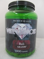 White Diamond Kratom Bali 1000ct Jar