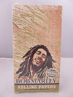 Bob Marley Unbleached Organic Hemp 1-1/4 Papers 25 booklets