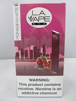 LA Vape STX 280mAh Disposable Salt Nic Pod Device (Pomegranate) 10ct Display