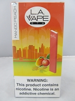 LA Vape STX 280mAh Disposable Salt Nic Pod Device (Mango Peach) 10ct Display