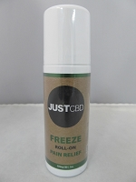 Just CBD Freeze Roll On Pain Relief 350mg 3oz