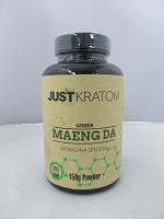 Just Kratom Green Maeng Da 150gram Powder Jar