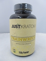 Just Kratom Trainwreck 150gram Powder Jar