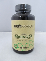 Just Kratom Green Maeng Da 30gram Powder Jar