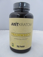 Just Kratom Trainwreck 30gram Powder Jar