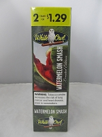 White Owl 2 For $1.29 Watermelon Smash Cigarillos 15ct Display