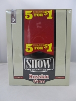 Show Cigarillos 5 Cigars For $1 ~ 15ct Pouch (Russian Gem)