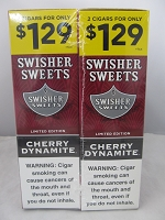 Swisher Sweet Cigarillos 2/$1.29 ~ 30ct Pouch (Cherry Dynamite)