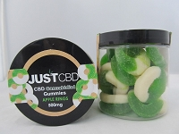 JUST CBD Gummies 500mg (Apple Rings)