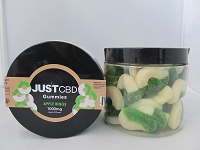 JUST CBD Gummies 1000mg (Apple Rings)