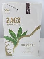 Zig Zag Hemp Wraps 2ct 25 Pouch (Original)