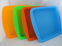 10X9 Rectangular Silicone Tray 1ct