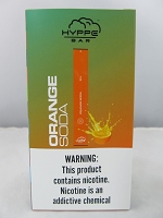 Hyppe Bar 5% Disposable Bar Device 10Pcs/Pack (Orange Soda)