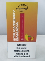 Hyppe Bar 5% Disposable Bar Device 10Pcs/Pack (Strawberry Banana)