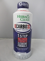 Herbal Clean Qcarbo One Step Detox 32oz (Grape)