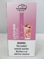 Hyppe Bar 5% Disposable Bar Device 10Pcs/Pack (Lychee Soda)