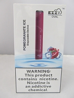 EZZY Oval 5% Disposable Device - 10Pcs/Pack (Pomegranate Ice)