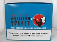 Natural American Spirit 100% Organic Turquoise Blend Tobacco  6 / 1.41oz Pouches