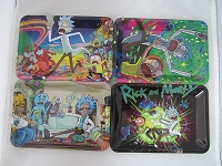 Famous Cartoon Design Rolling Tray 7 Inch X 6 Inch (New Designs)
