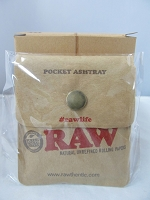 RAW Pocket Portable Ash Tray 10ct Display