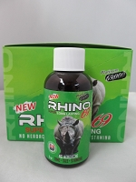 Rhino 69 Platinum 69K Green 2oz Male Enhancement Shot 12ct Display