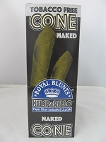 Royal Blunts Hemparillo Hemp Cones 2ct/10 Pouches (Naked)