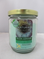 Natural Killers Deodorizer Candle 13oz (Blue Dream)