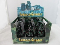 Grenade 3 Part Grinder 6ct Display