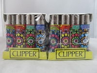 Clipper Refillable Lighter Lucky Eye 48ct Display