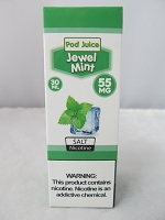 POD Juice 55mg Salt Nic 30ml (Jewel Mint)