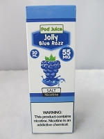 POD Juice 55mg Salt Nic 30ml (Blue Razz)