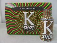 K Shot Botanical Kratom Herbal Extract 2oz Shot 60ml 12ct Display