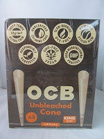 OCB Virgin Cone King Size 3ct 32pk Display