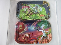 Famous Cartoon Design Rolling Tray 11 Inch X 7 Inch (New Designs)