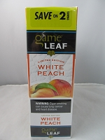 Garcia Y Vega Game Leaf Save On 2 ~ 30ct Pouch (White Peach)