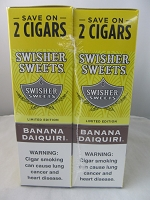 Swisher Sweet Save On 2 ~ 30ct Pouch (Banana Daiquiri)