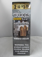 Sweet Woods by Good Times 2/$1.29 ~ 15ct Pouch (Russian Cream)