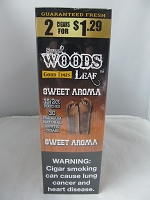Sweet Woods by Good Times 2/$1.29 ~ 15ct Pouch (Sweet Aroma)