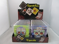 80mm Cigarette Case w/ Assorted Sugar Skull Designs 12ct