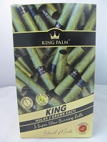 King Palm King Rolls 5pk 15ct Display