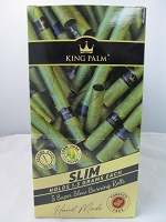 King Palm Slim Rolls 5pk 15ct Display