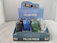 Buddies 4 Part 21mm Pollen Press 12ct Display